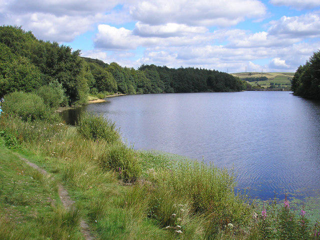 Ryburn Reservoir - geograph.org.uk - 519939