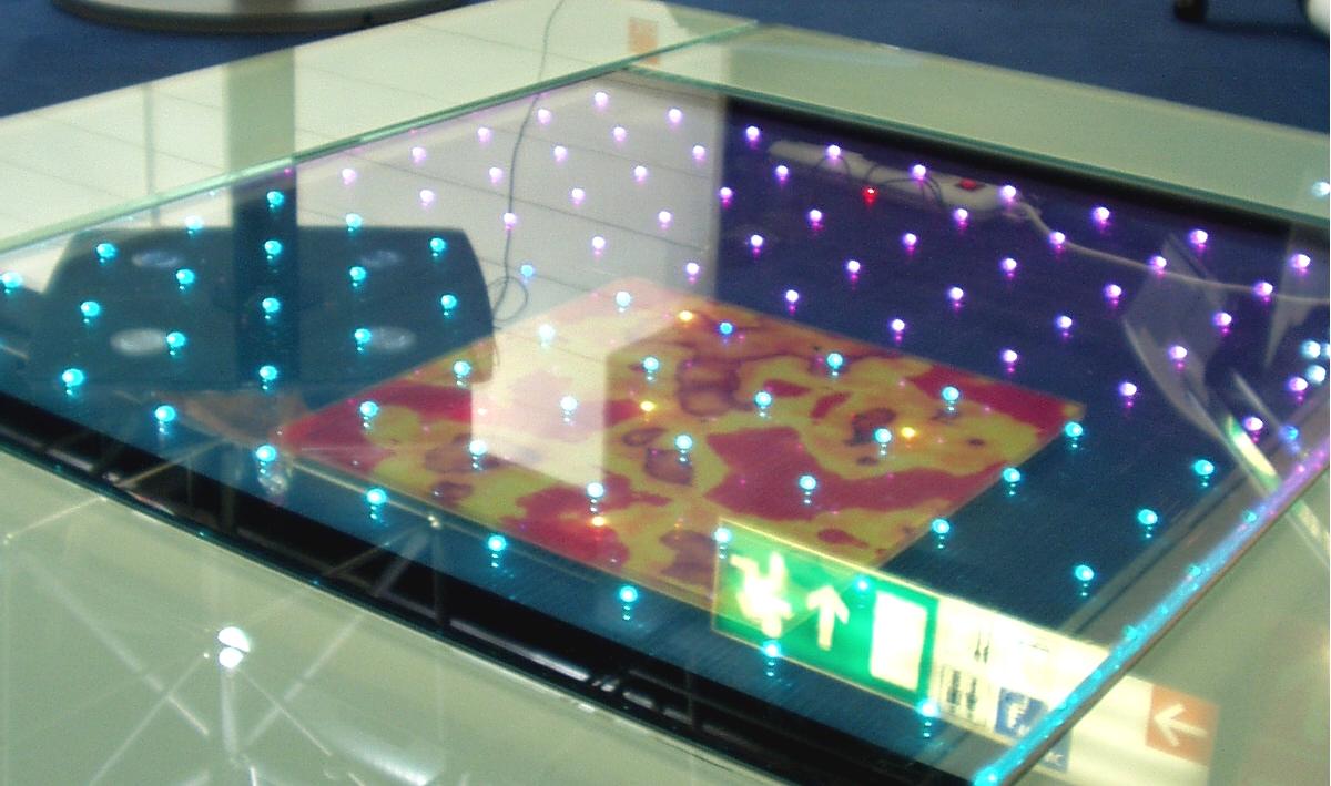 LED Glass