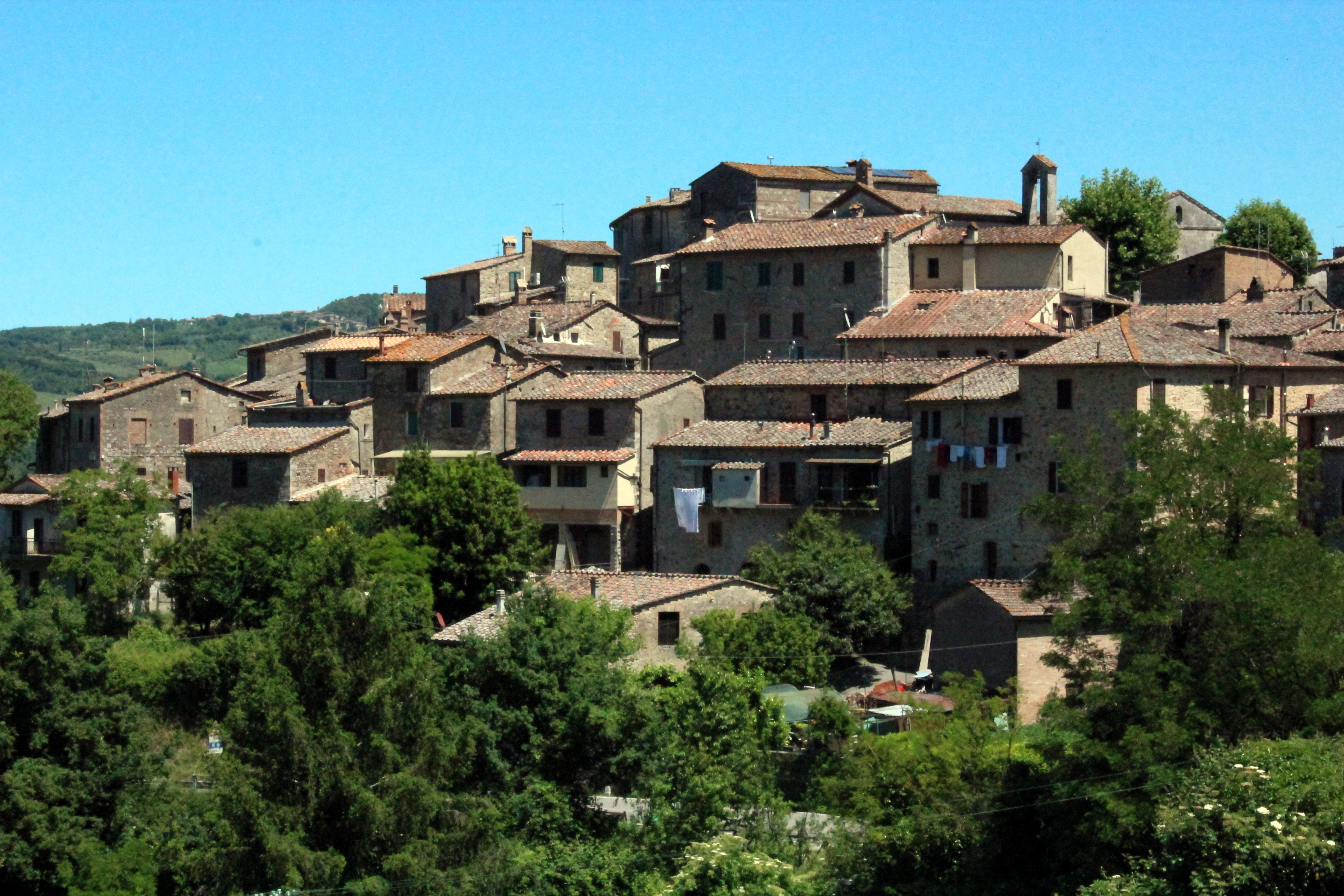 San Lorenzo a Merse, panorama