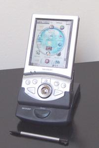 PDA Sharp Zaurus SL-5500