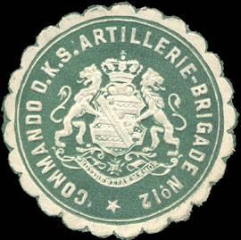 File:Siegelmarke Commando der Königlich Sächsischen Artillerie - Brigade No. 12 W0210855.jpg