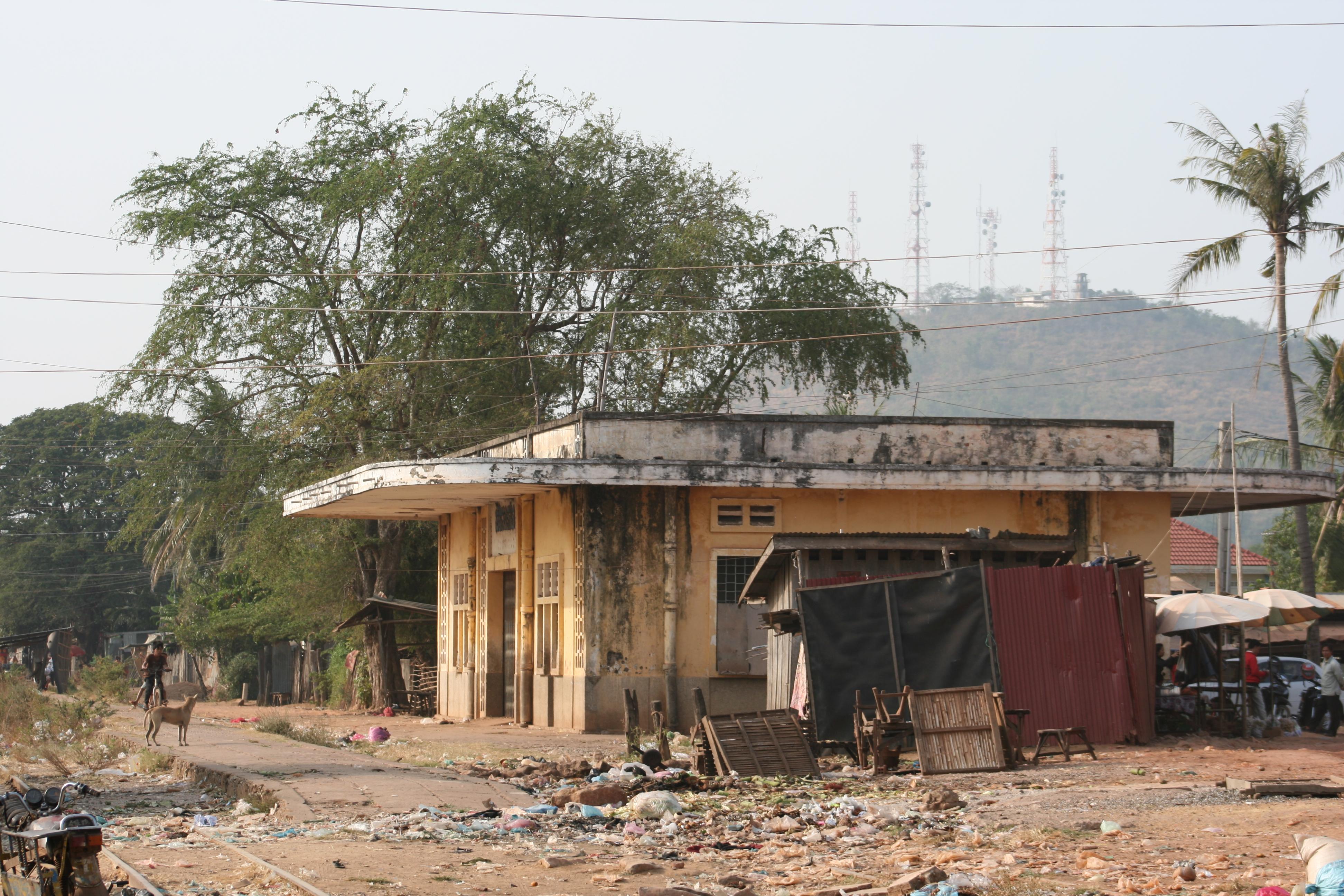 Sisophon Railway Station