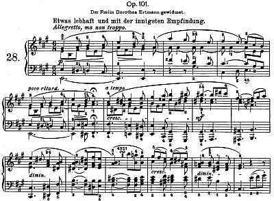 Piano Sonata No  28 (Beethoven) - Wikipedia