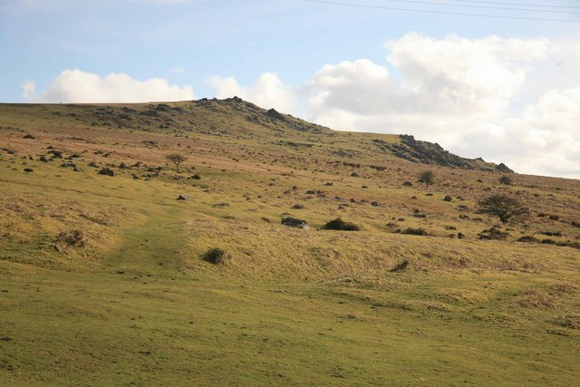 Sourton Tors and the moor - geograph.org.uk - 1834240