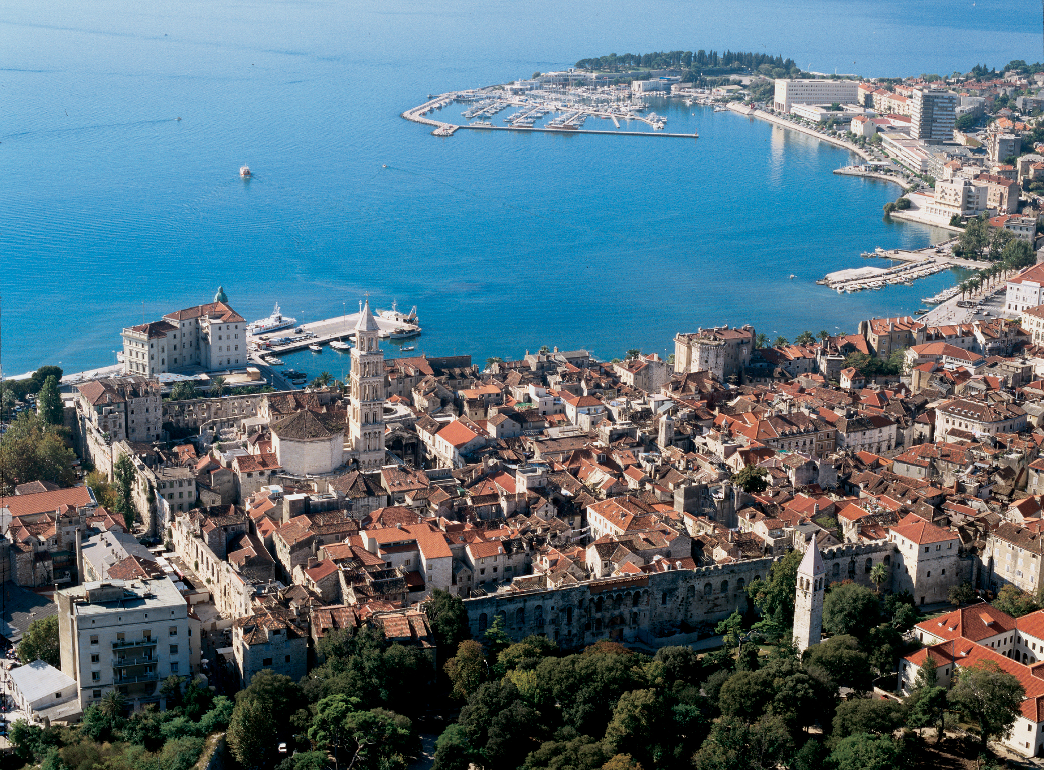 Split Croatia  city images : Split iz zraka Wikipedia, the free encyclopedia