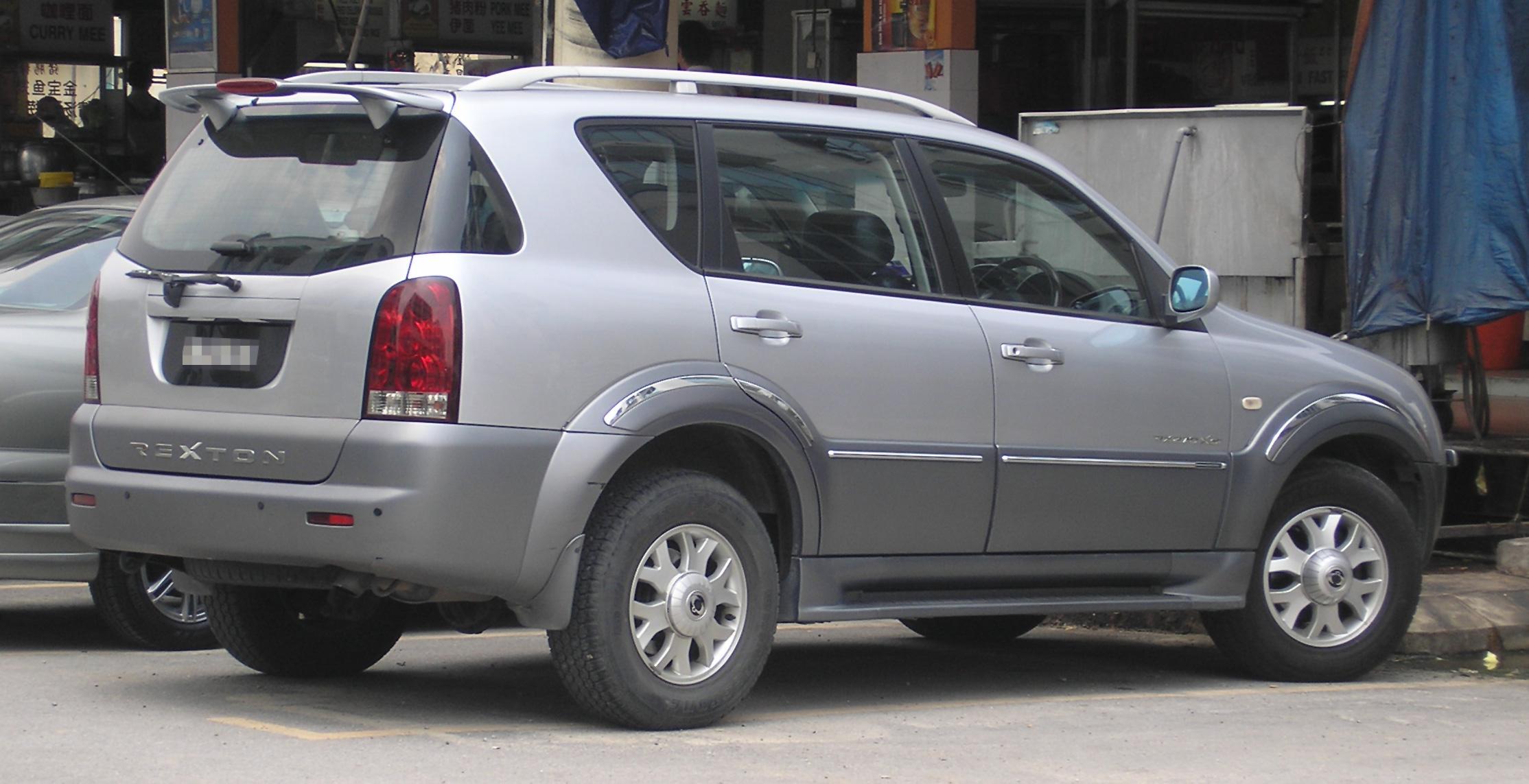 Fiche technique Daewoo Rexton de 2002 à 2004