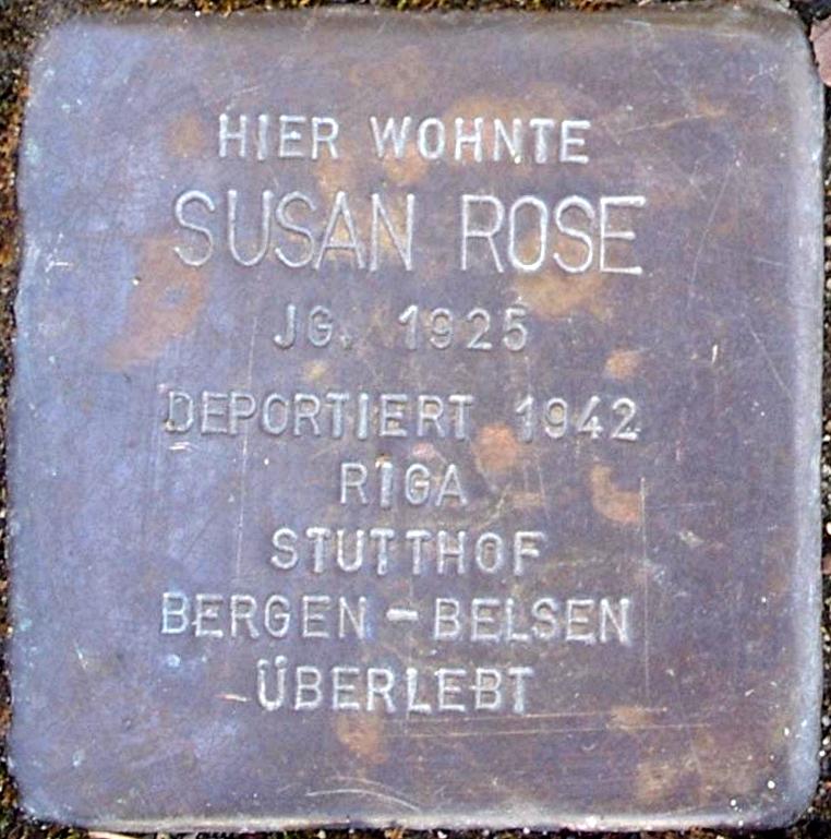 Stolperstein Rose, Susan.jpg