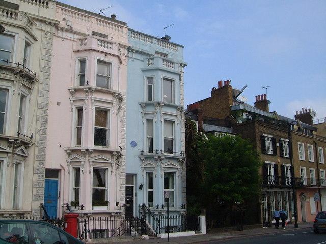 Sylvia Pankhurst's house, Cheyne Walk - geograph.org.uk - 263337