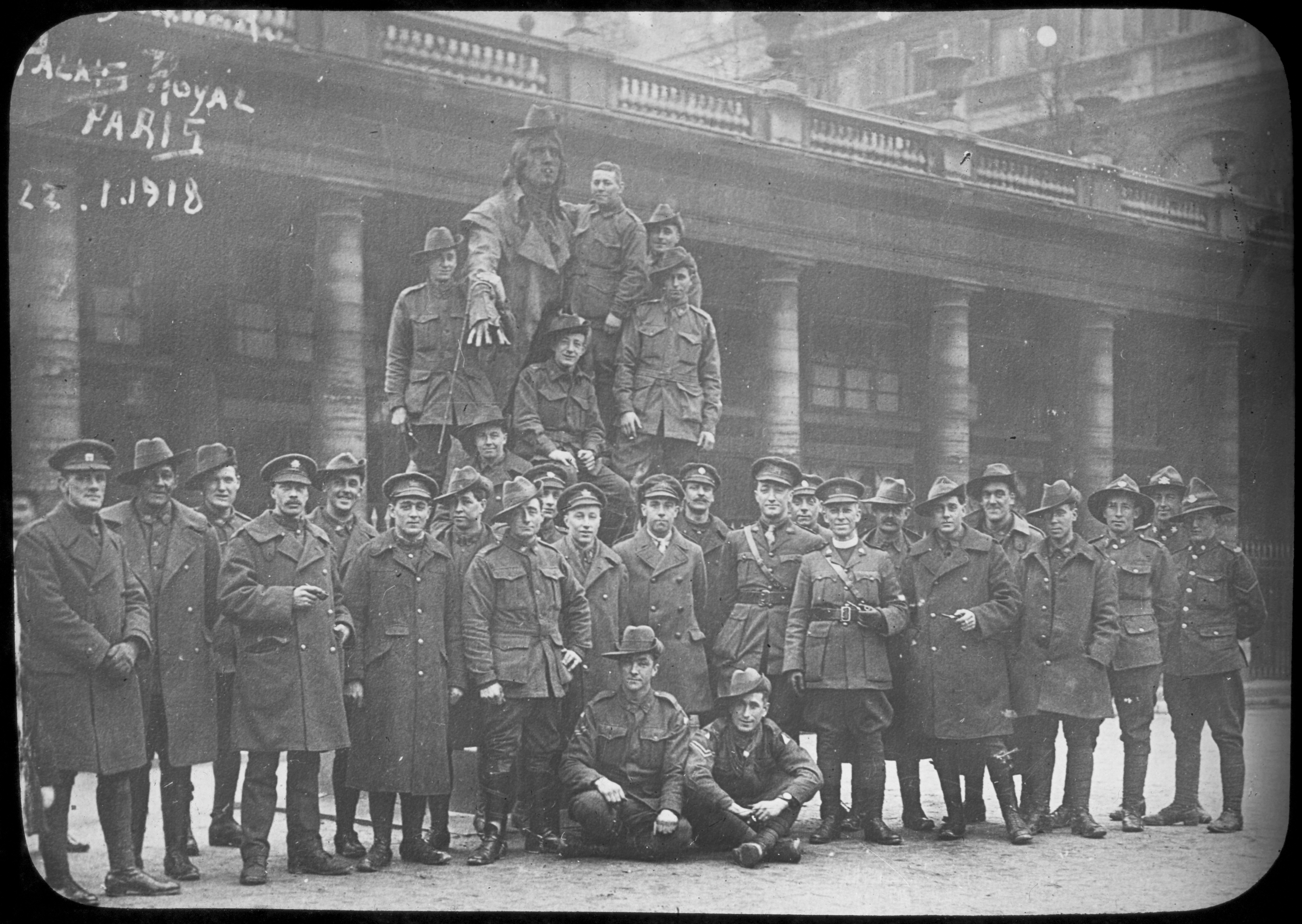 File T P Bennett Members Of The 22nd Battalion A I F