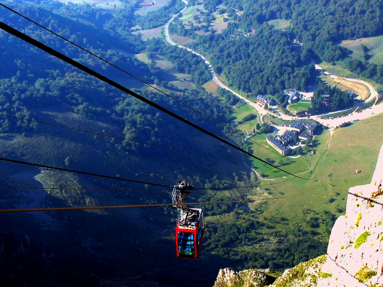 Fuente De Cable Car Cost
