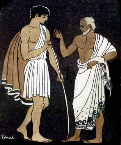 Telemachus and Mentor1