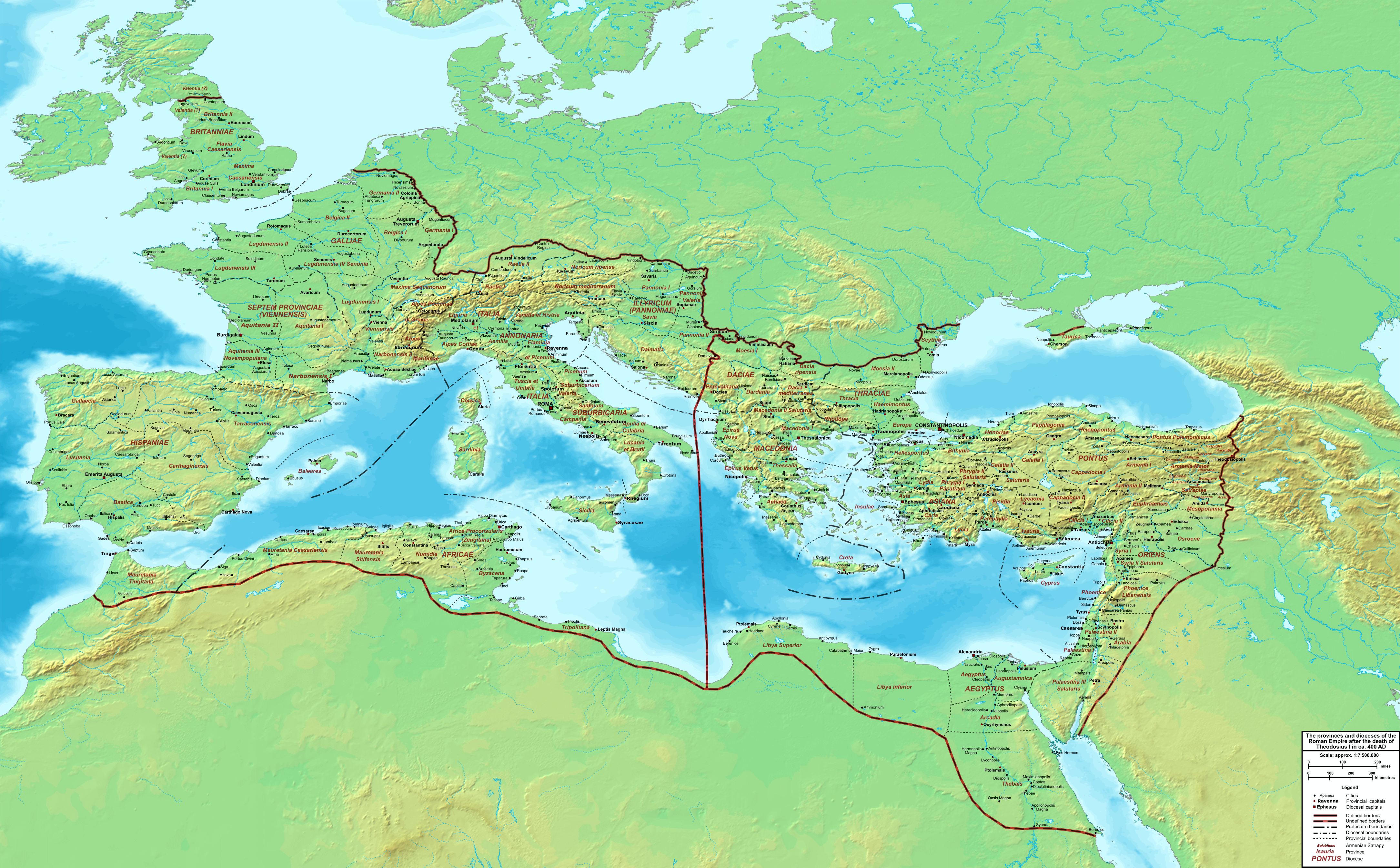 Late Roman Empire Map.History Of The Byzantine Empire Wikiwand