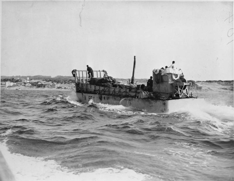 World War  Navy Landing Craft
