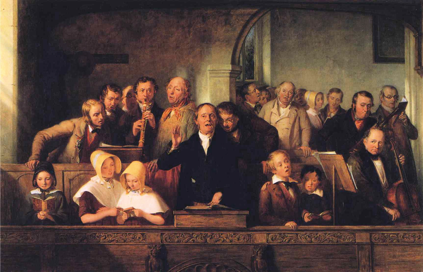 File:Thomas Webster - The Village Choir.JPG - Wikimedia Commonswebster village