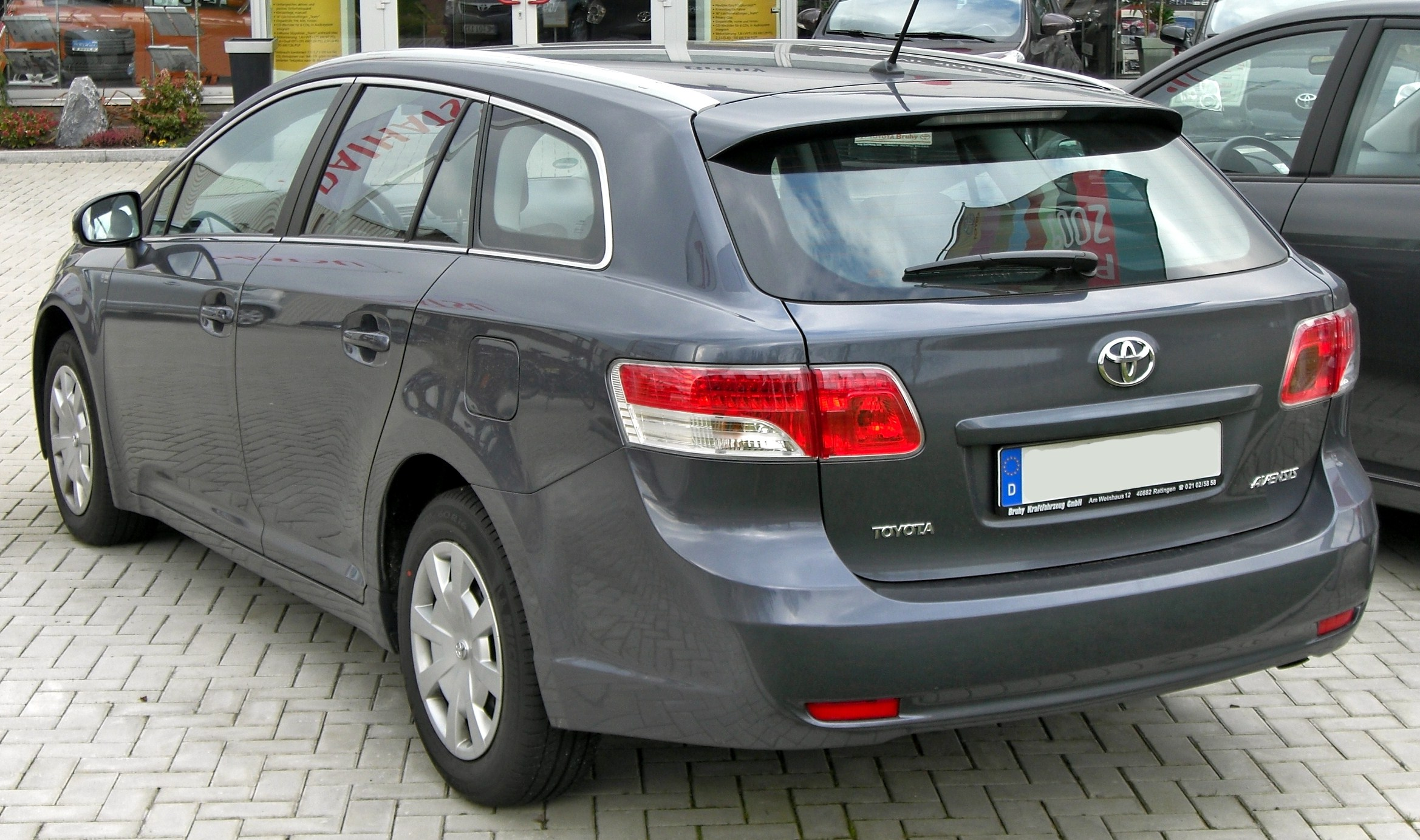 Toyota Avensis Wikipedia Camry Le Engine Diagram Of 2012 Wagon Pre Facelift