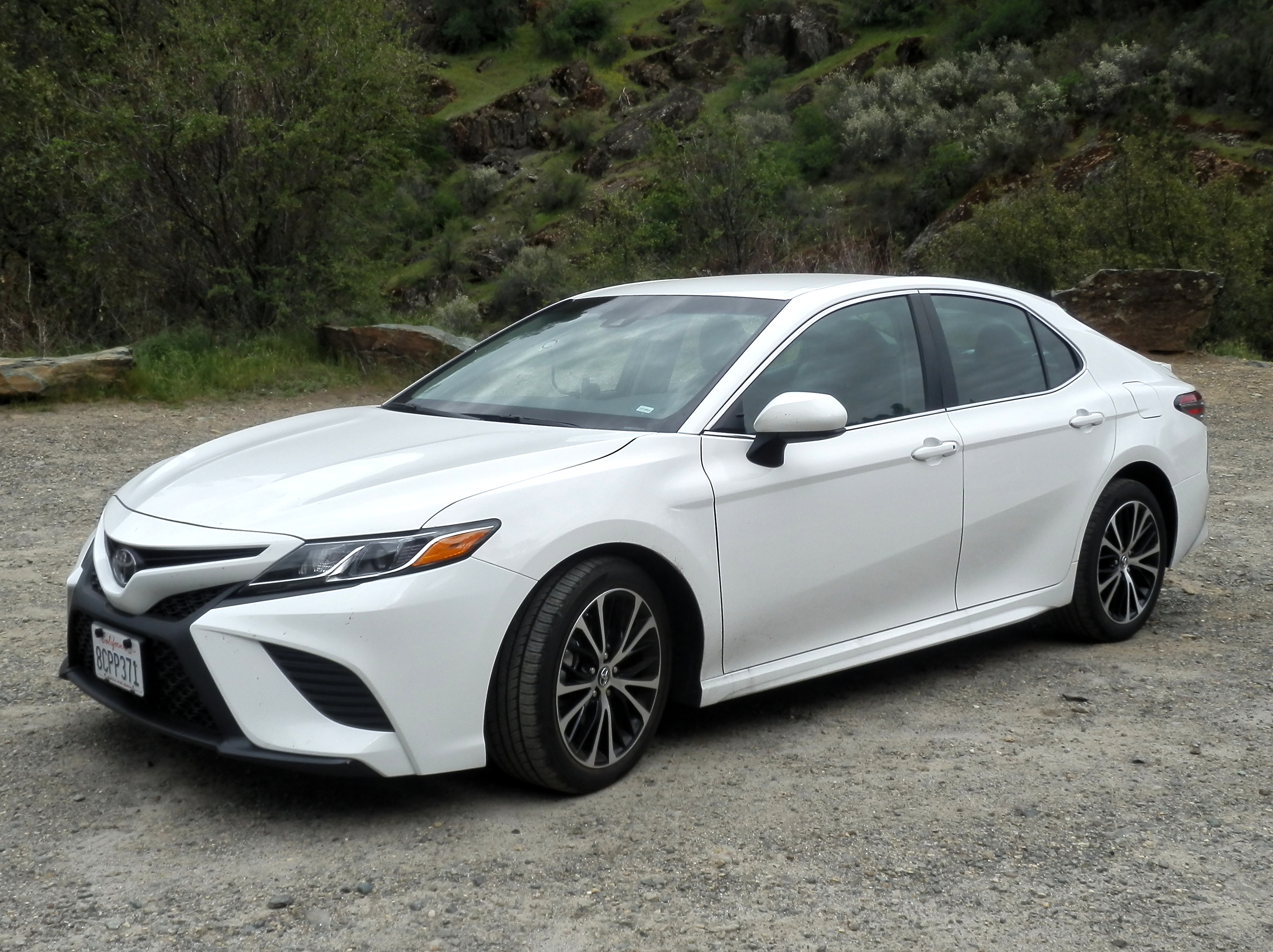 test car review toyota pro camry se drive