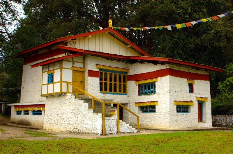 Birthplace of the 6th Dalai Lama (Urgelling Gompa) in Tawang