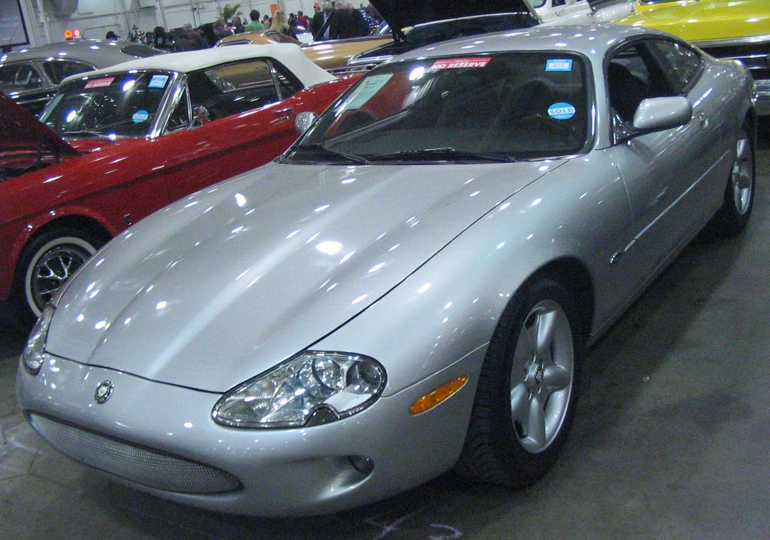 Police Car Auction Toronto >> File Tuned 02 Jaguar Xk8 Toronto Spring 12 Classic Car