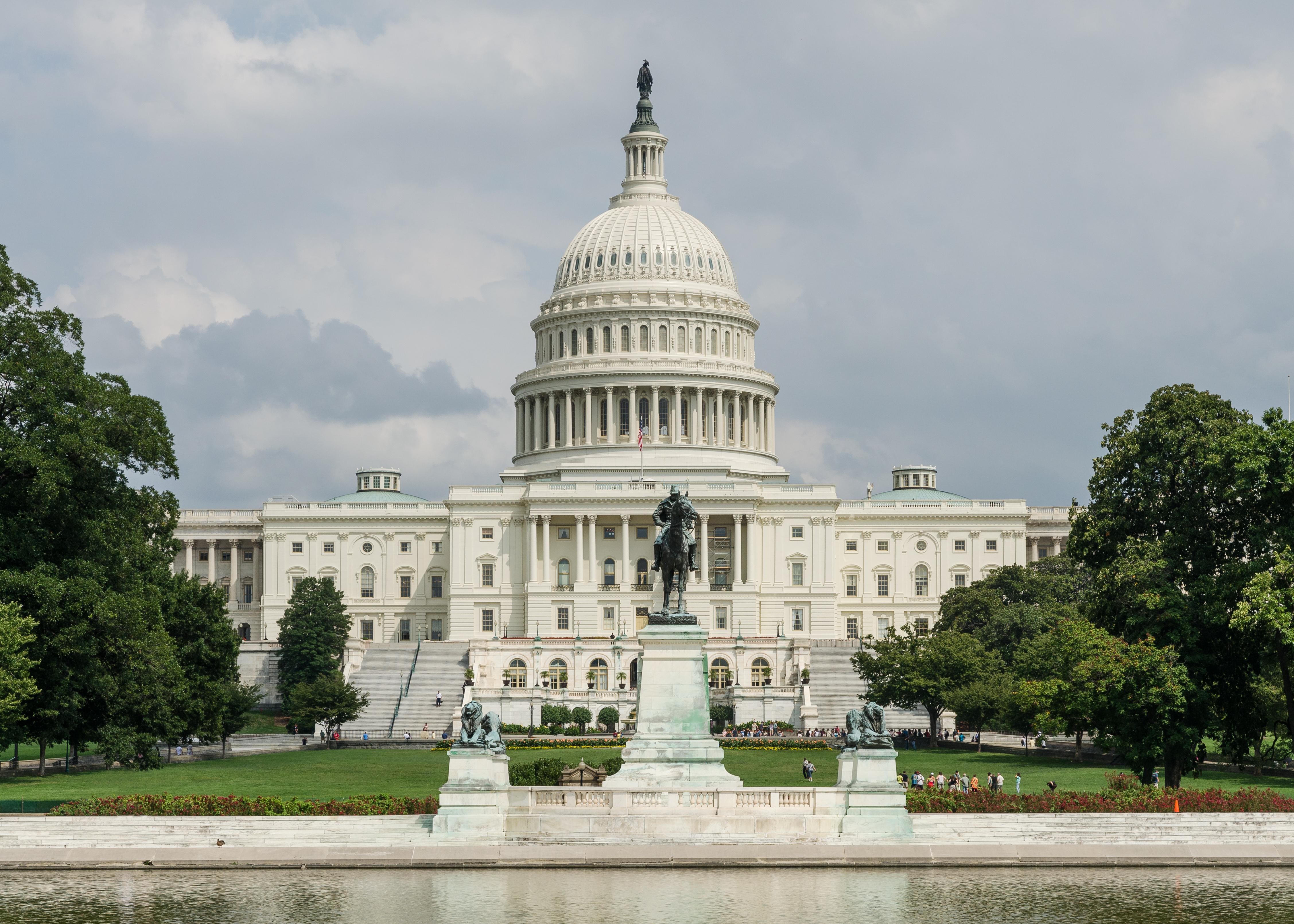 File U S Capitol Washington D C West View 20110826 1