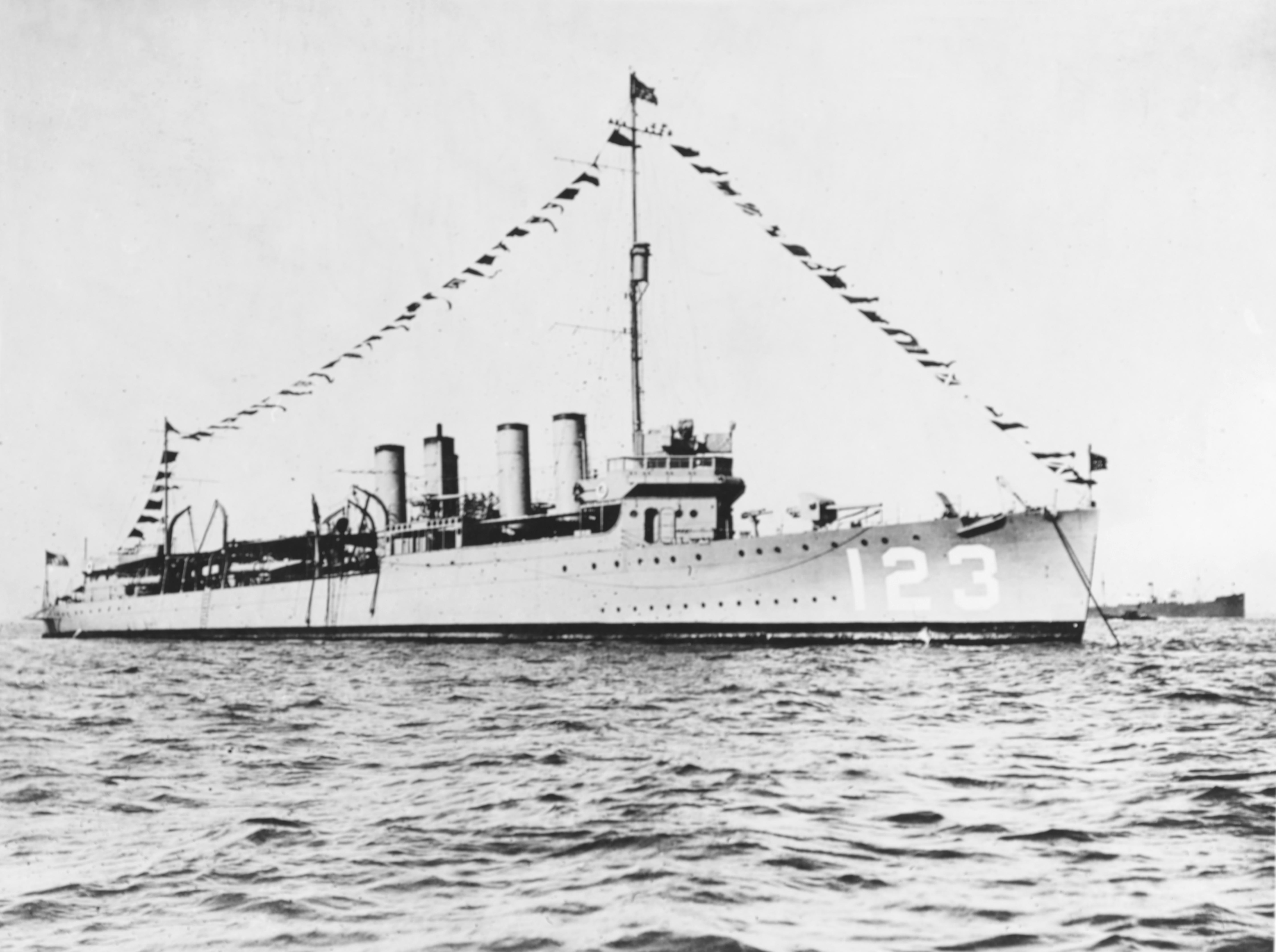 USS Gamble (DD-123)