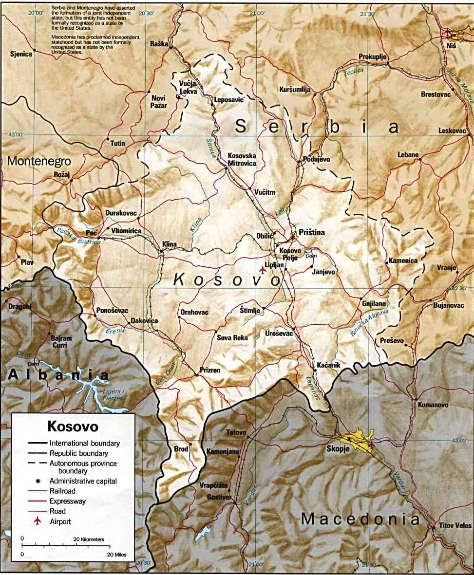 Outline of kosovo wikiwand gumiabroncs Choice Image