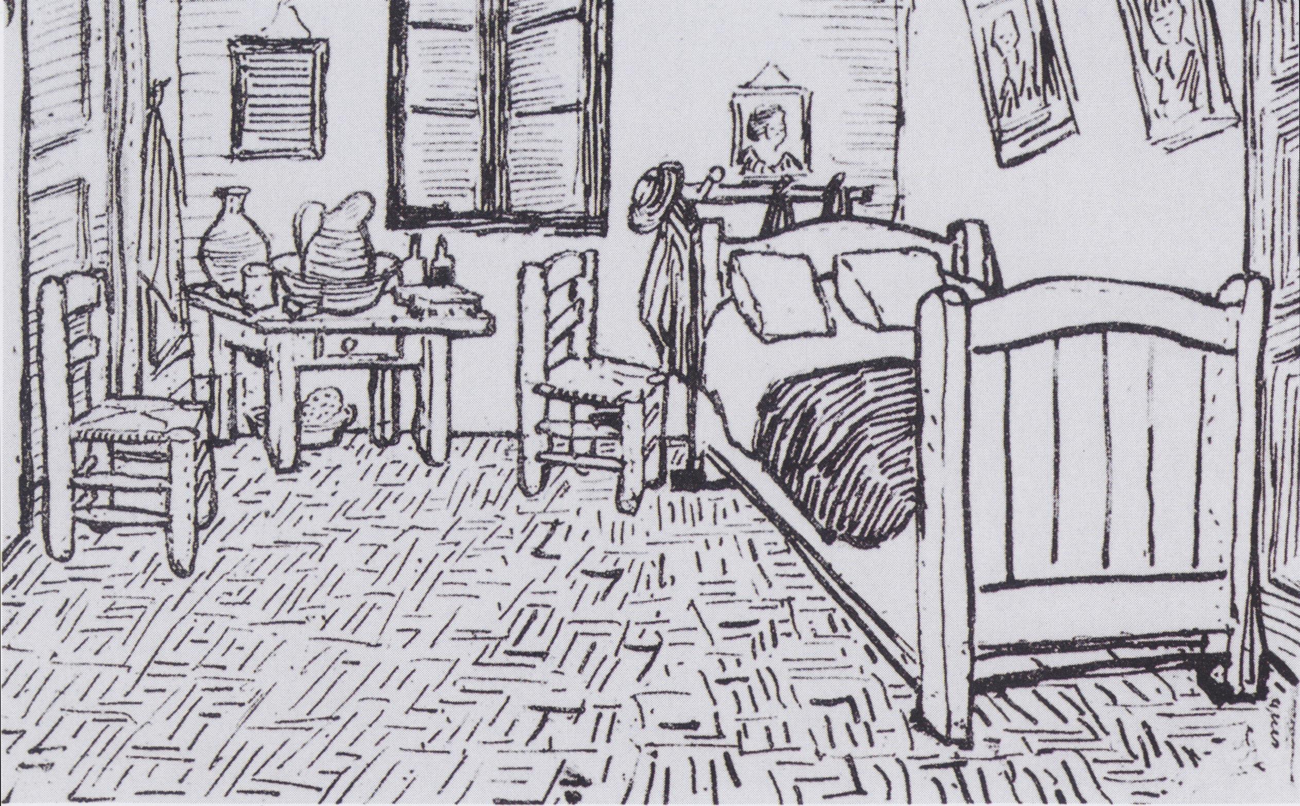 Schlafzimmer In Arles : FileVan Gogh  Vincents Schlafzimmer in Arlesjpeg