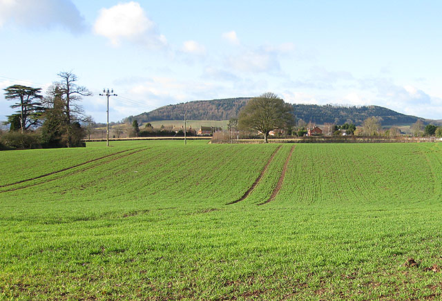 View west from Burghill - geograph.org.uk - 1131209