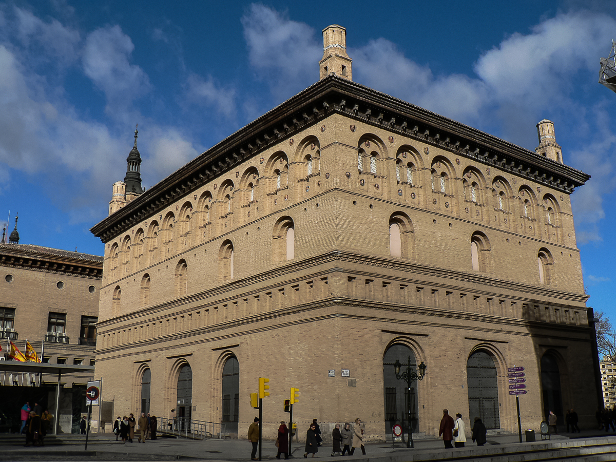 Resultado de imagen de Lonja de Zaragoza