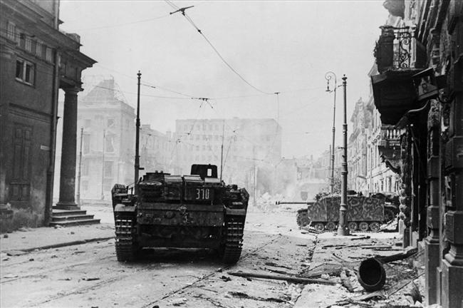 StuG III in Warsaw