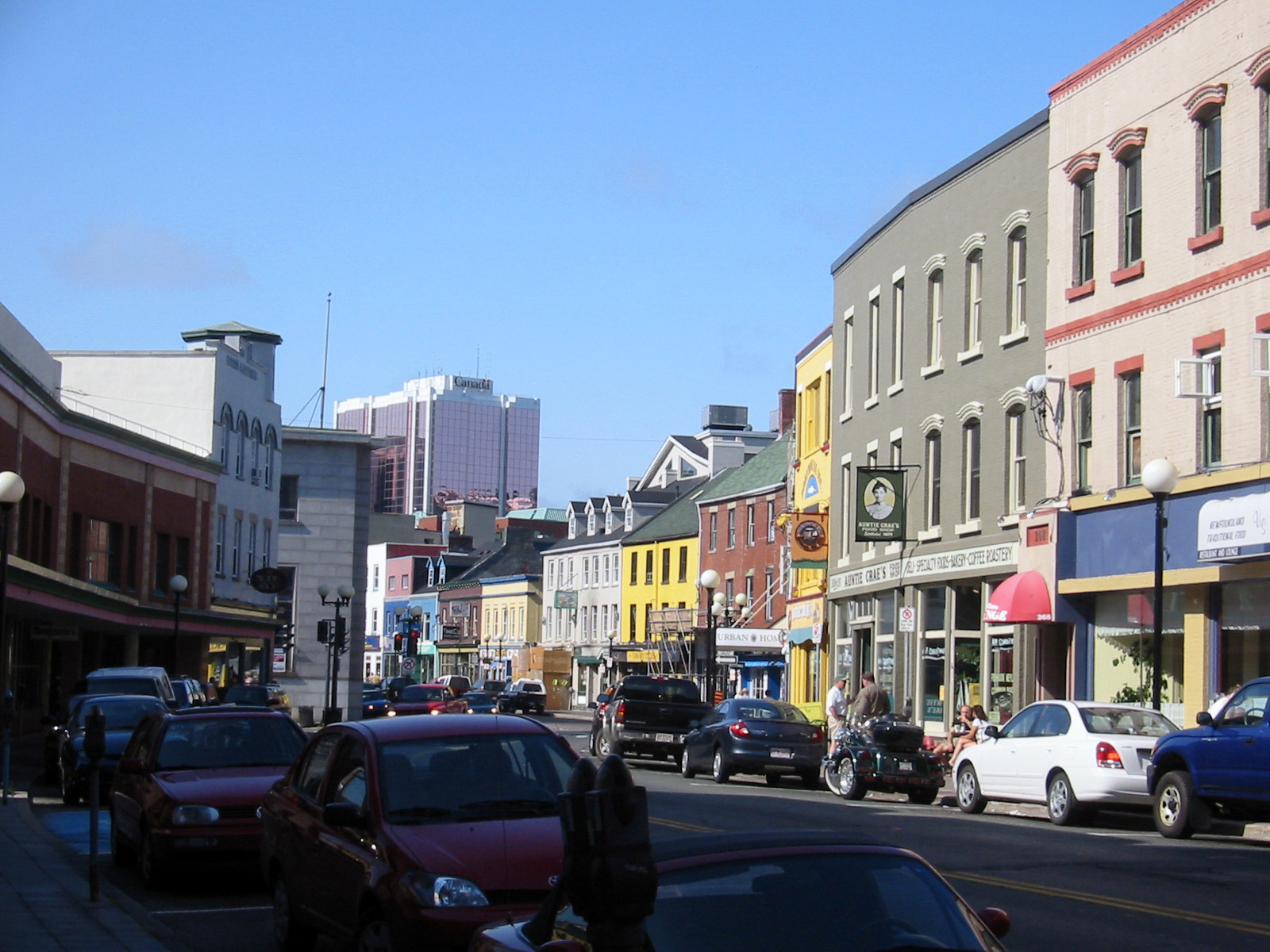 St. John's (NL) Canada  city pictures gallery : Water street st. john's2 Wikimedia Commons