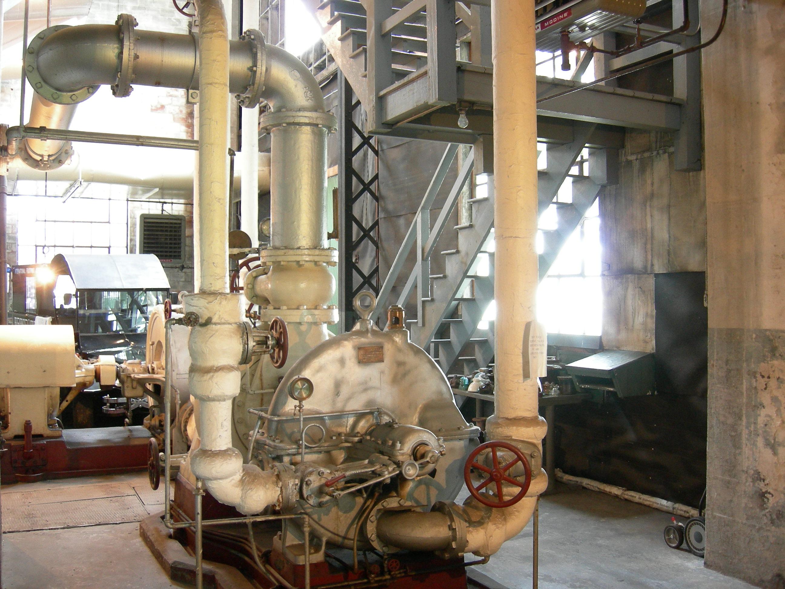File Westinghouse steam turbine 02 Wikimedia mons