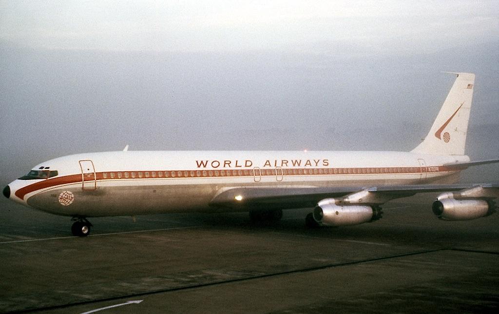 Resultado de imagen para world airways 707