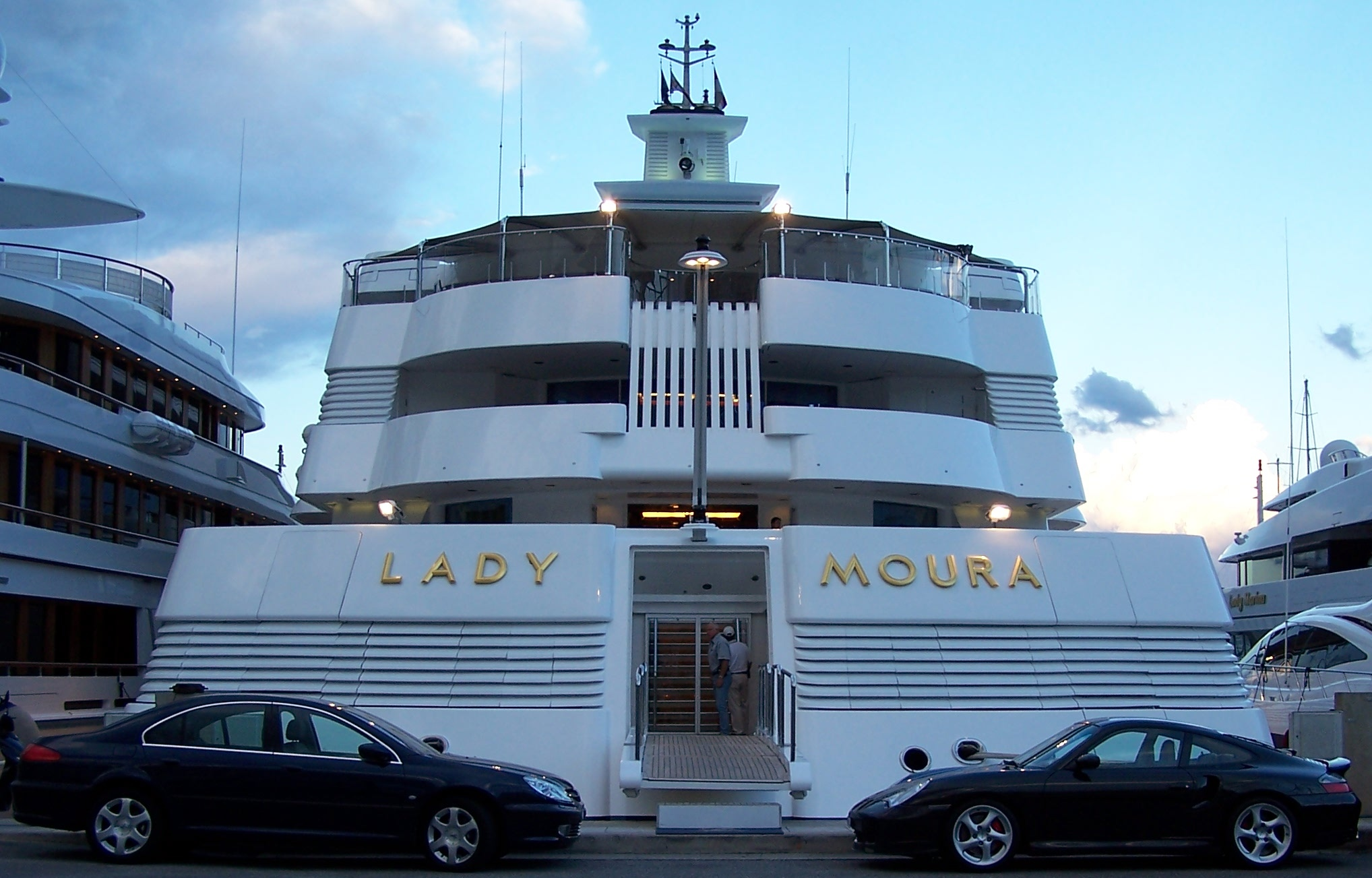 Lady Moura Yacht Junglekey Fr Image