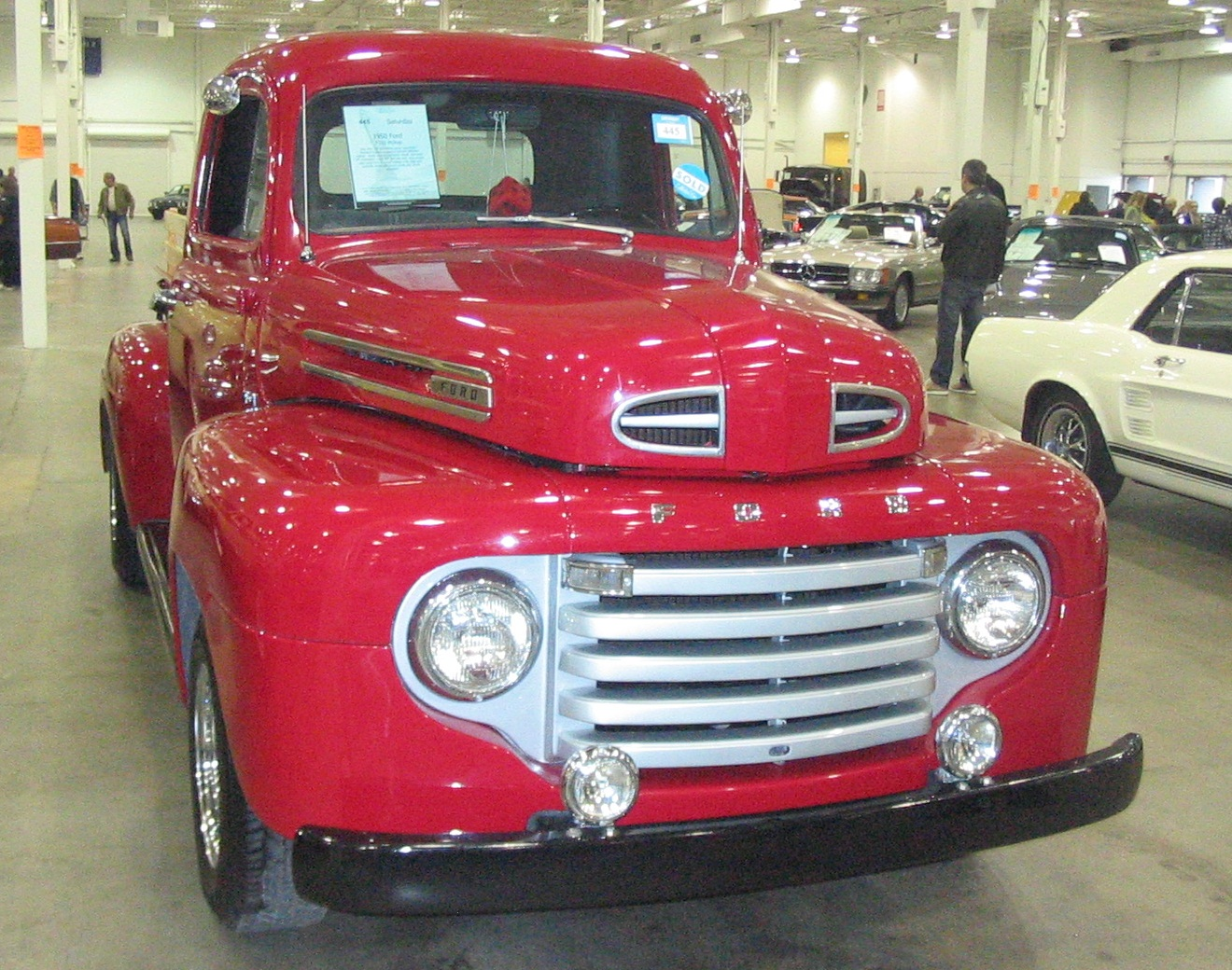 Ford And Ford Auction >> File:'50 Ford F-Series (Toronto Spring '12 Classic Car Auction).JPG - Wikimedia Commons