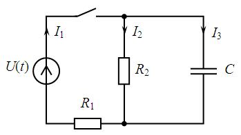 Применение инеграла дюамеля к расчету переходных процессов