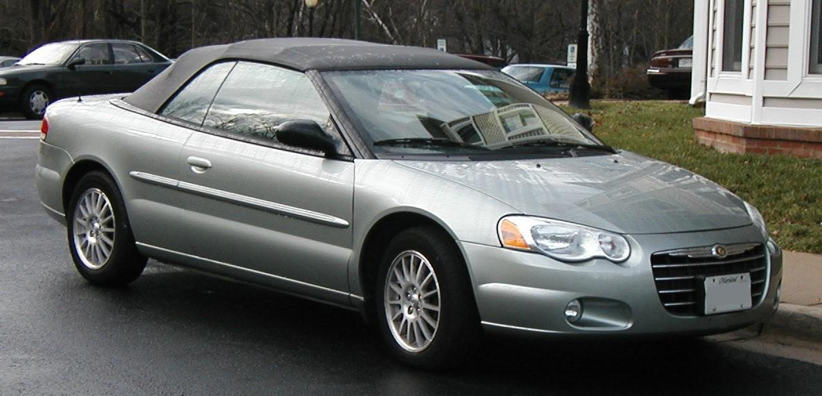 bestand 03 06 chrysler sebring convertible wikipedia. Black Bedroom Furniture Sets. Home Design Ideas
