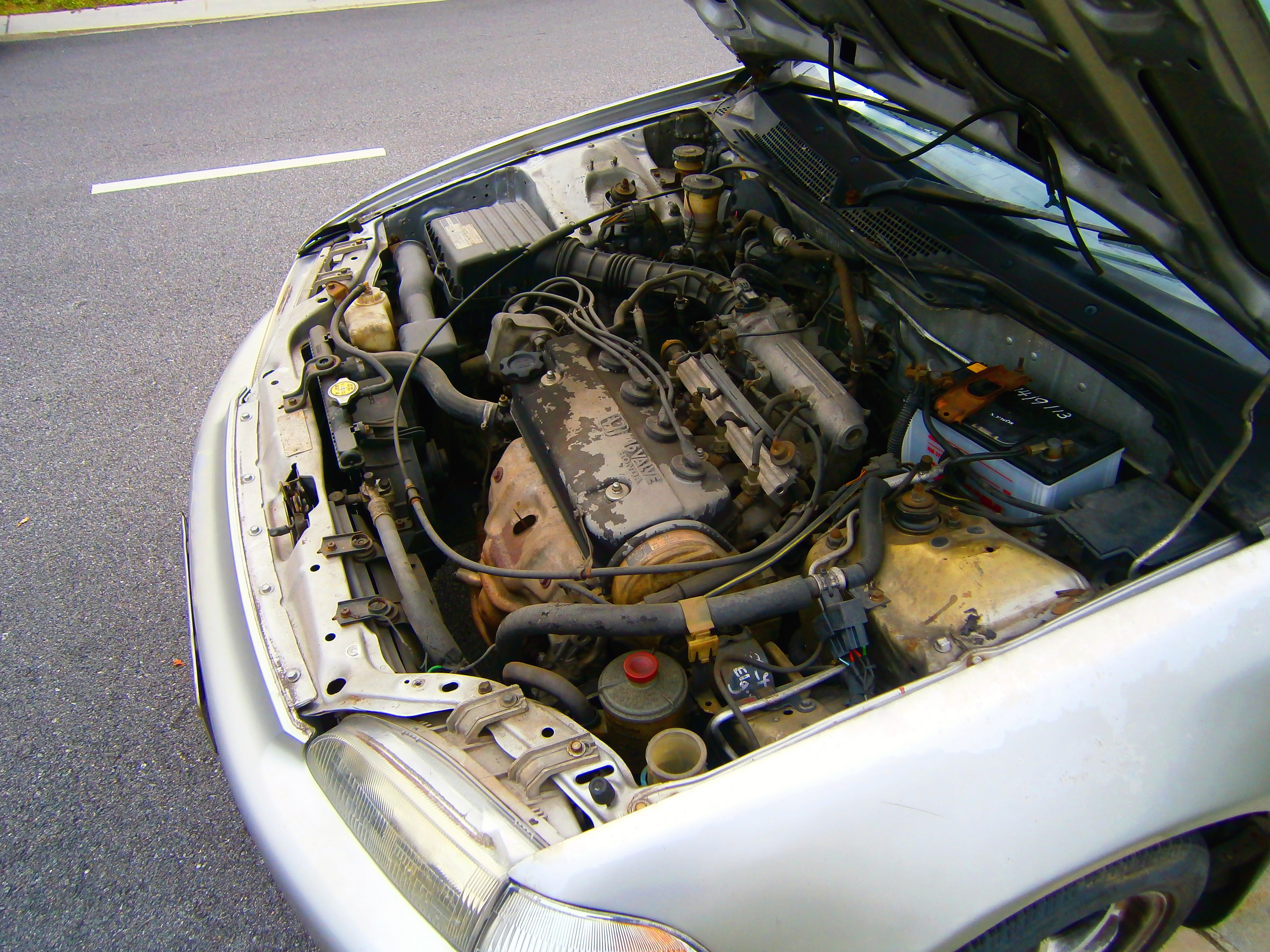 L Honda Vtec Engine In A Honda Civic Eh Saloon In Puchong C Malaysia