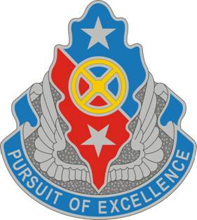 168th Support Battalion distinctive unit insignia