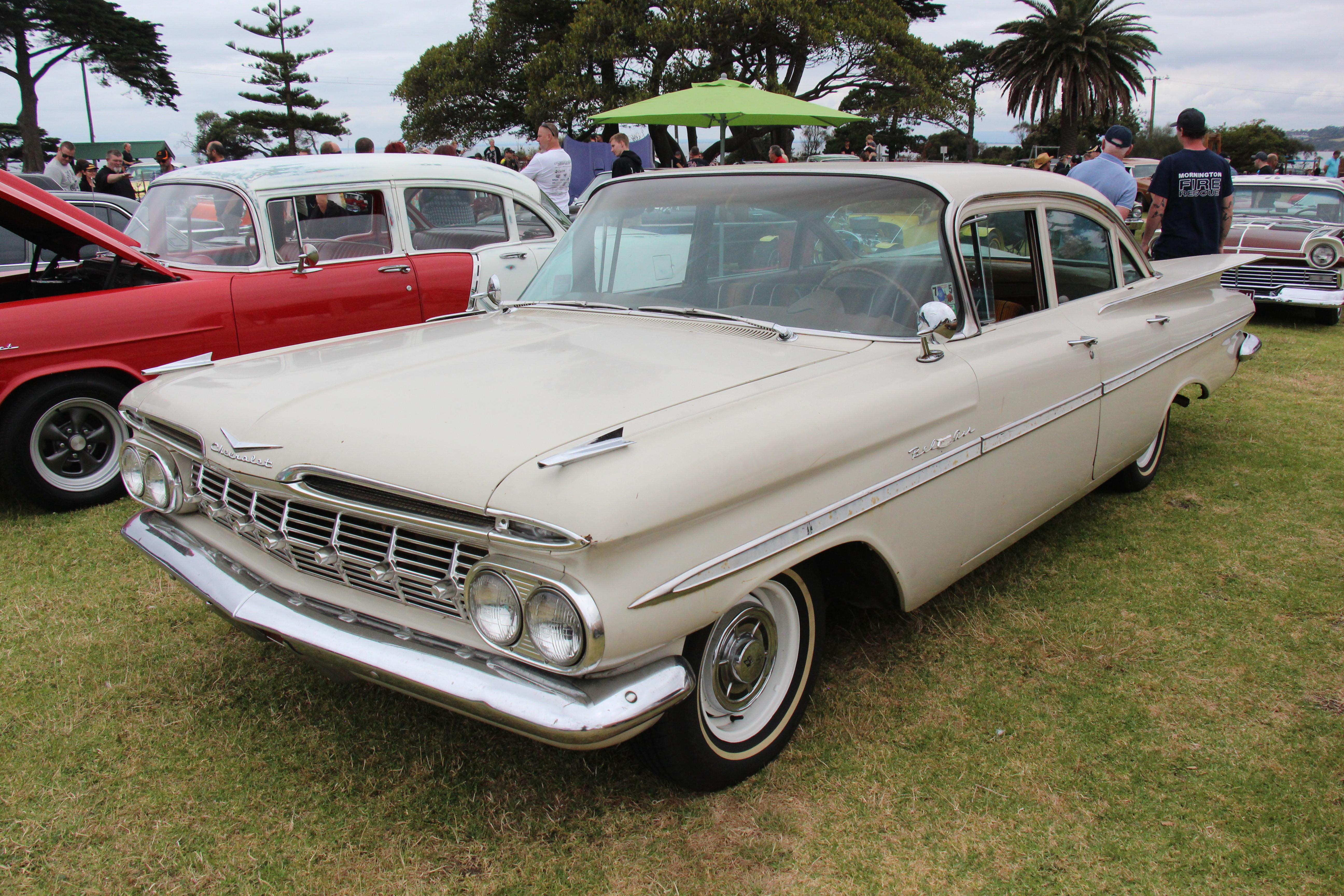 File 1959 Chevrolet Bel Air Sedan 31901992951 Jpg Wikimedia Commons