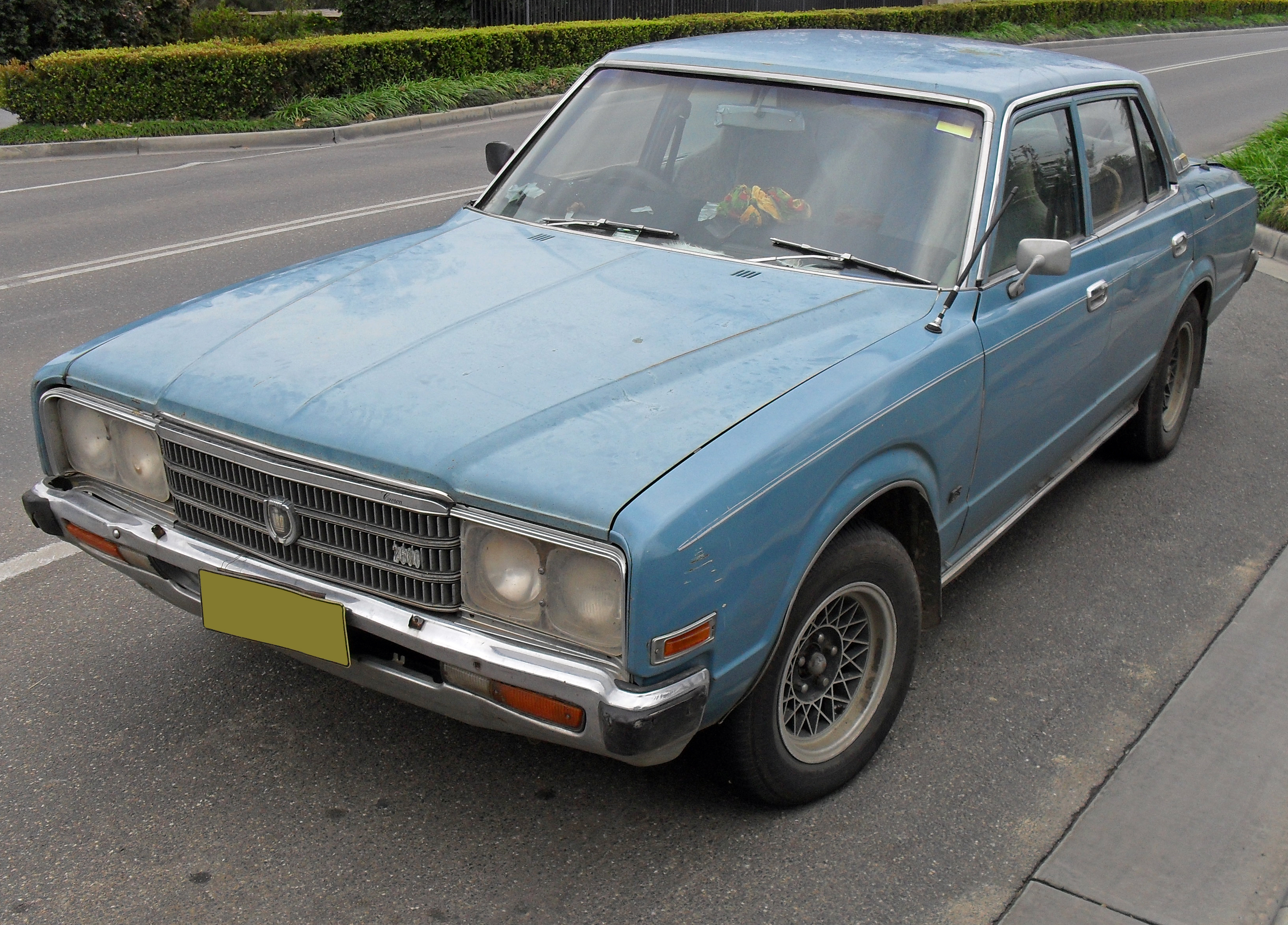File 1976 1978 Toyota Crown Cs 2600 Sedan Jpg Wikimedia