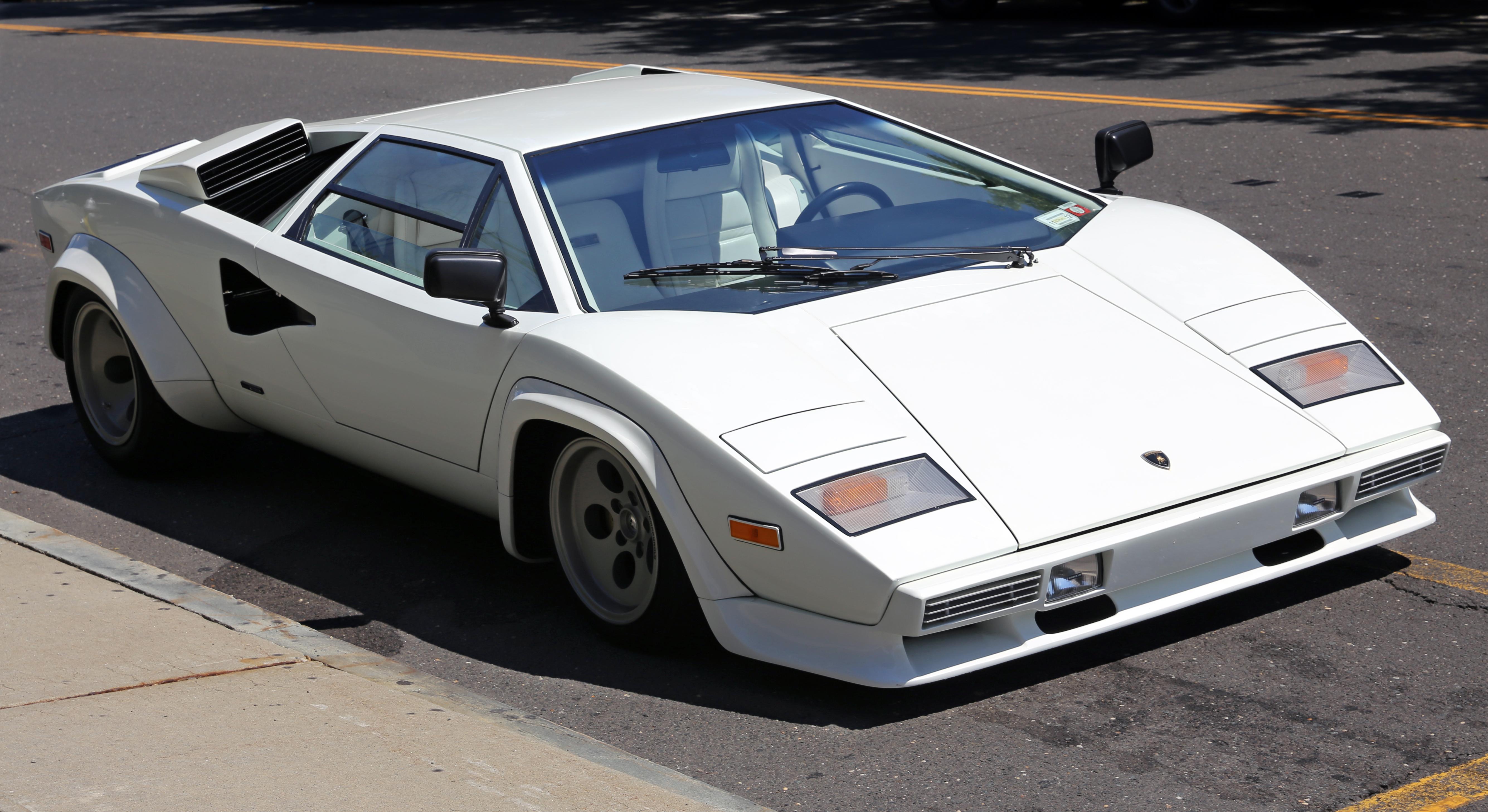 1981_Lamborghini_Countach_LP400S_%28S2%29_front Extraordinary Lamborghini Countach Schwer Zu Fahren Cars Trend