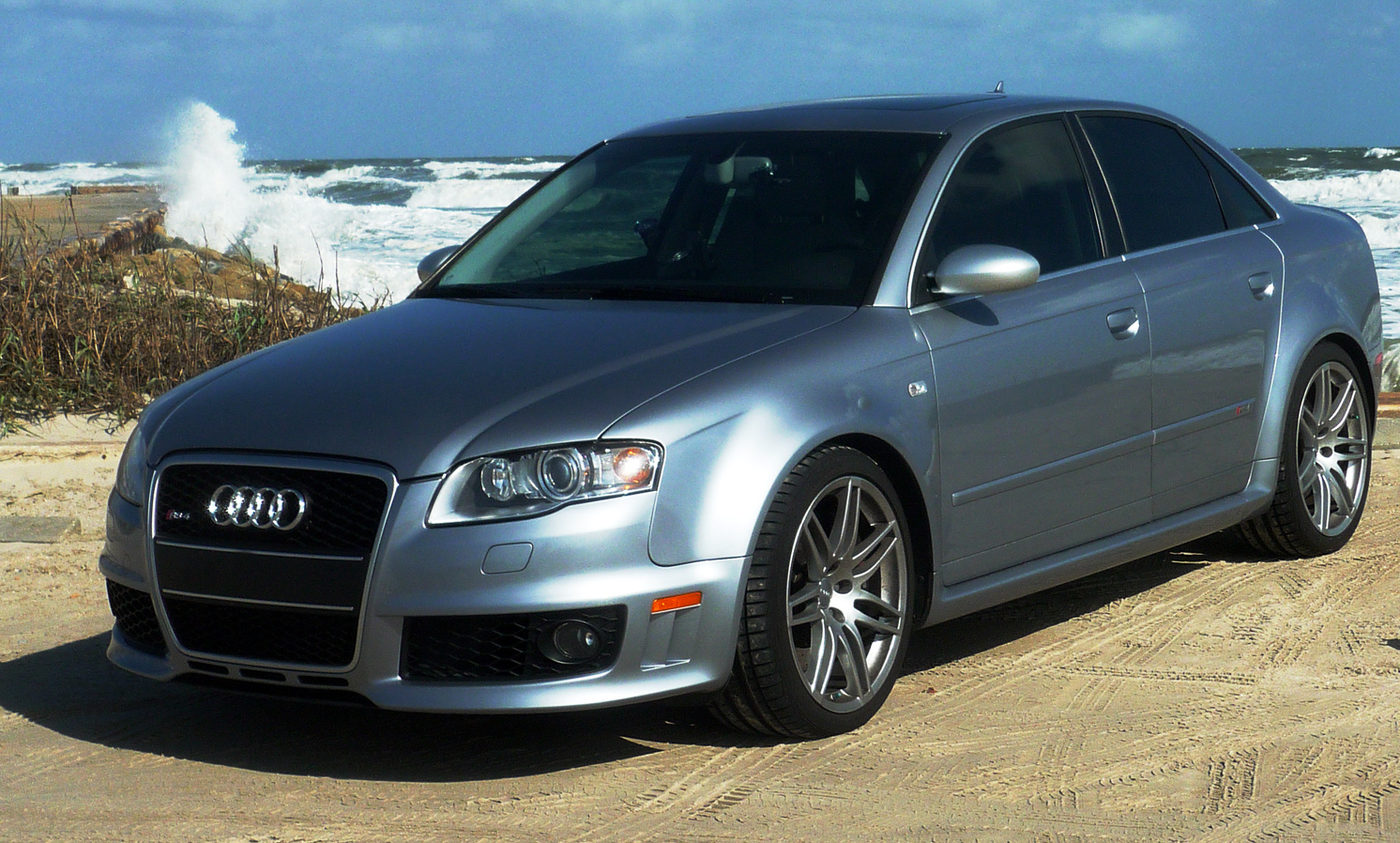 File 2007 B7 Rs4 Sedan Png Wikimedia Commons