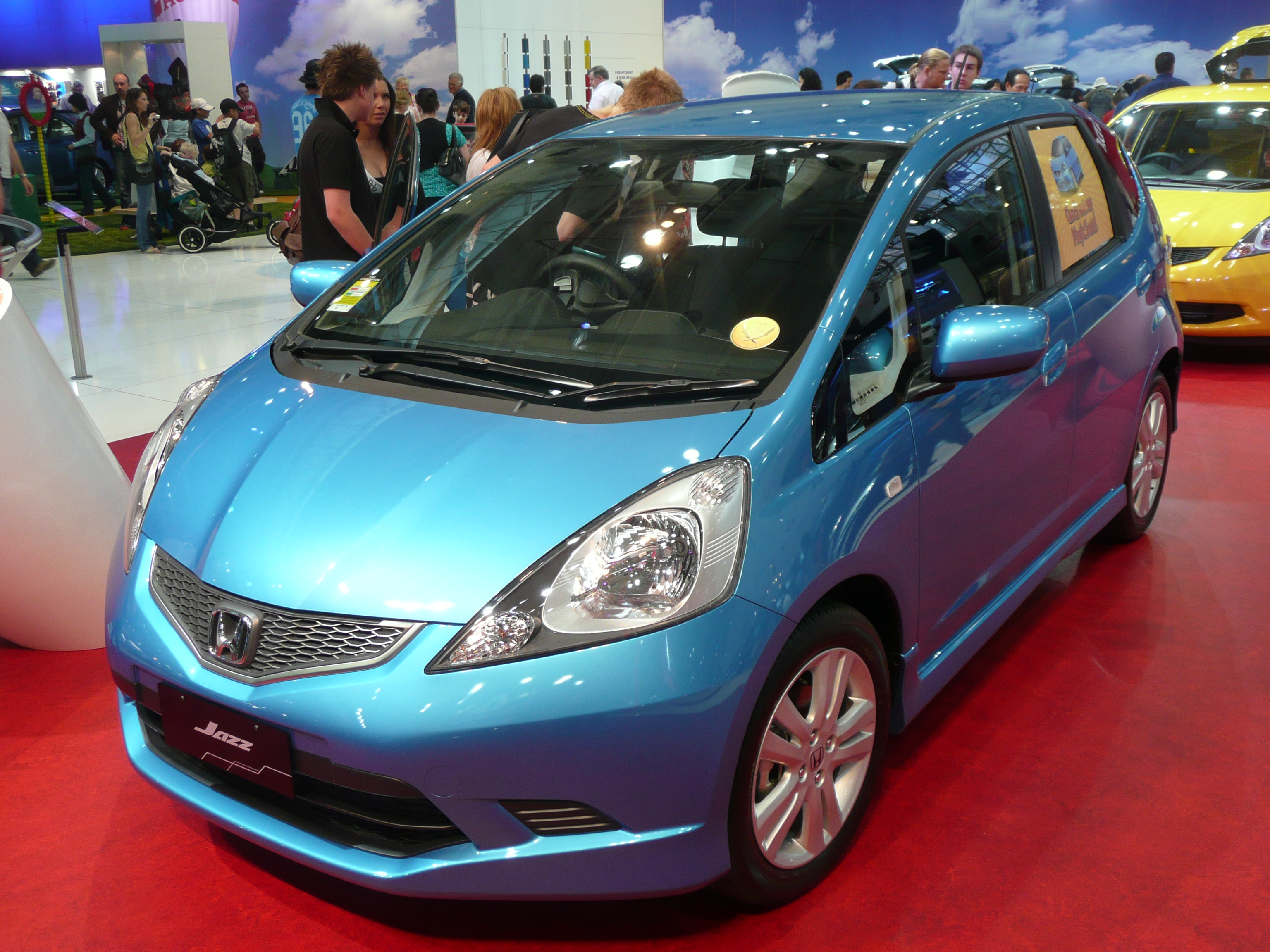 file 2008 honda jazz ge my09 vti s hatchback wikimedia commons. Black Bedroom Furniture Sets. Home Design Ideas