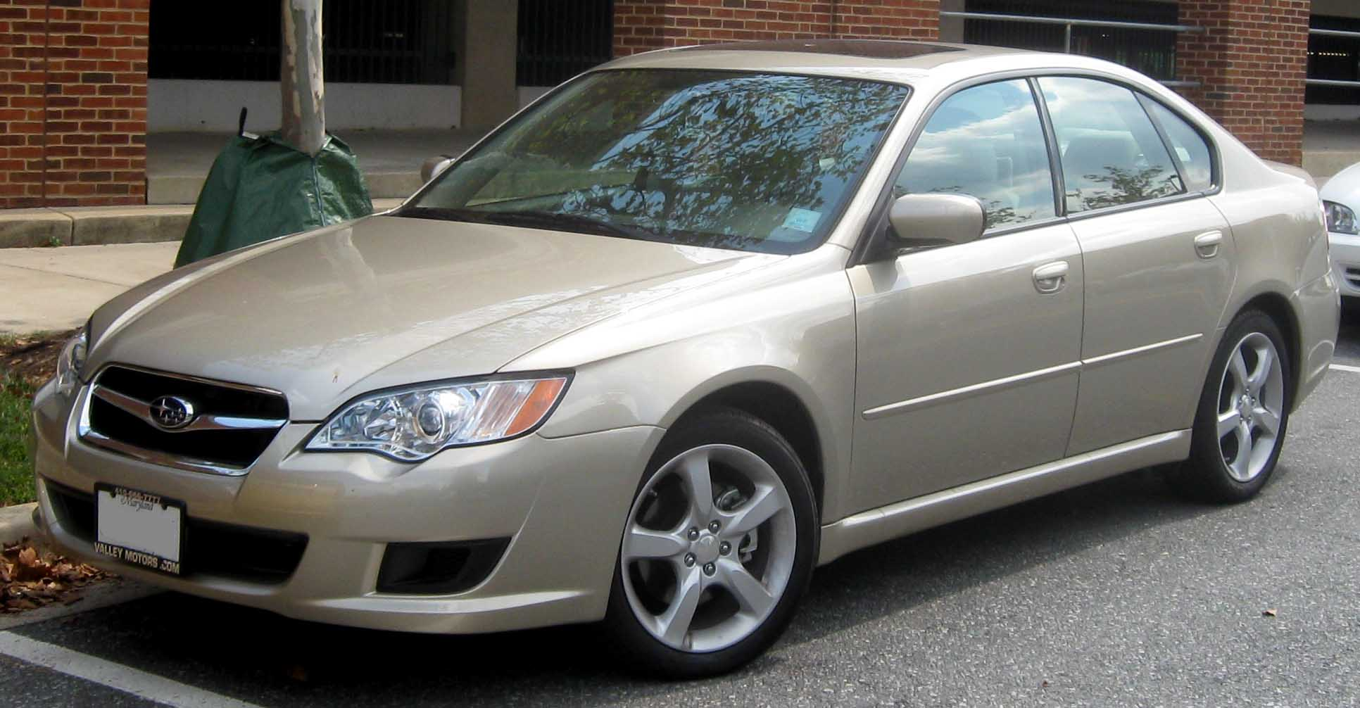 File 2008 Subaru Legacy 2 5i Sedan Jpg Wikimedia Commons