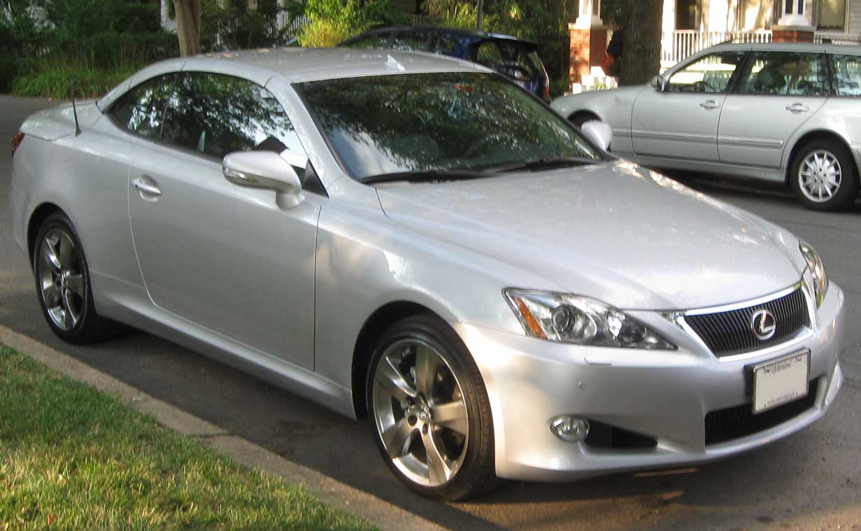 File:2010 Lexus IS250C 1 -- 06-24-2010.jpg - Wikimedia Commons