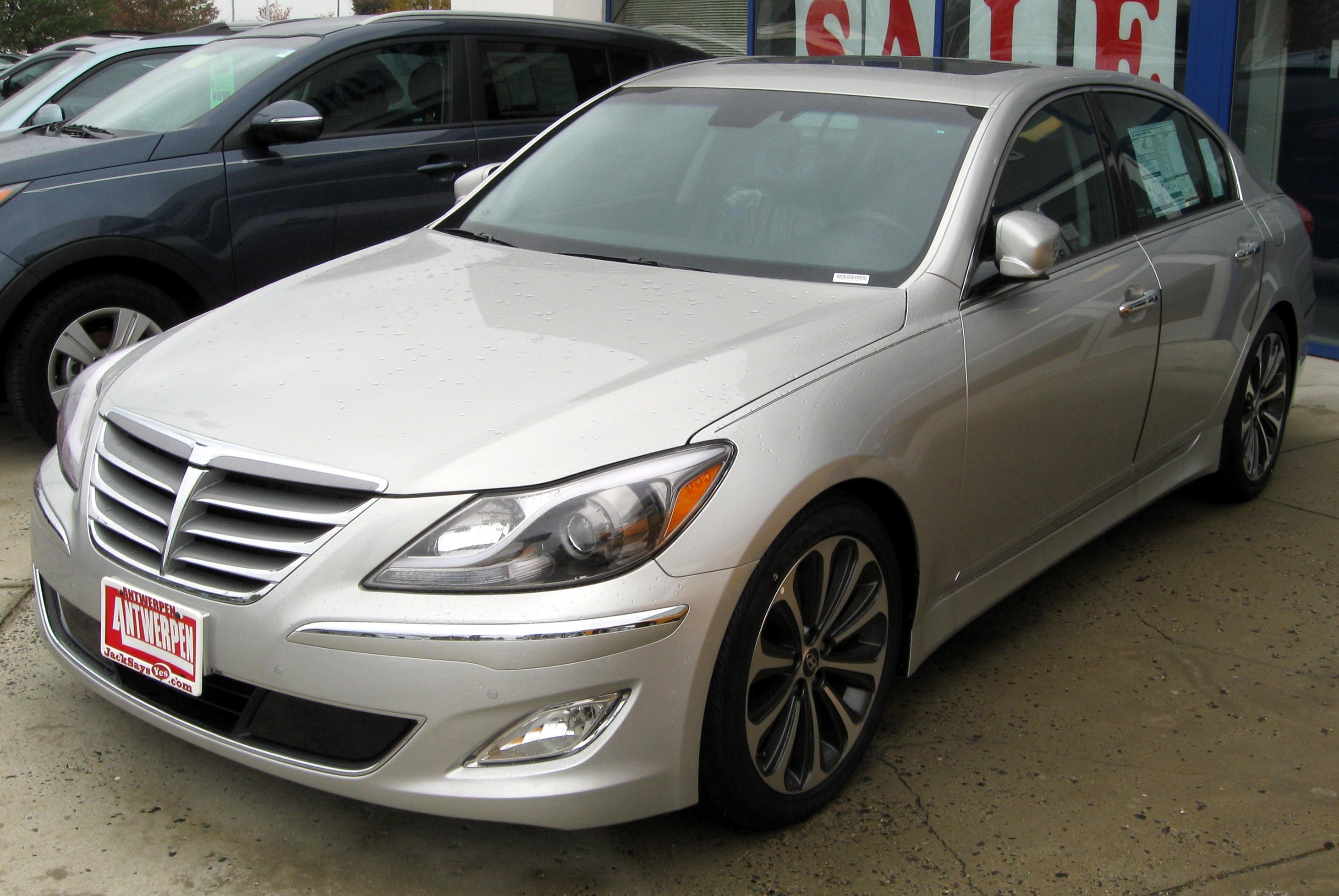 File:2012 Hyundai Genesis R Spec    10 19 2011.