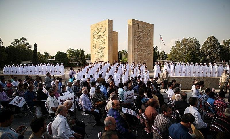 2016. Actos conmemorativos de la estampida de La Meca, producida un año antes.