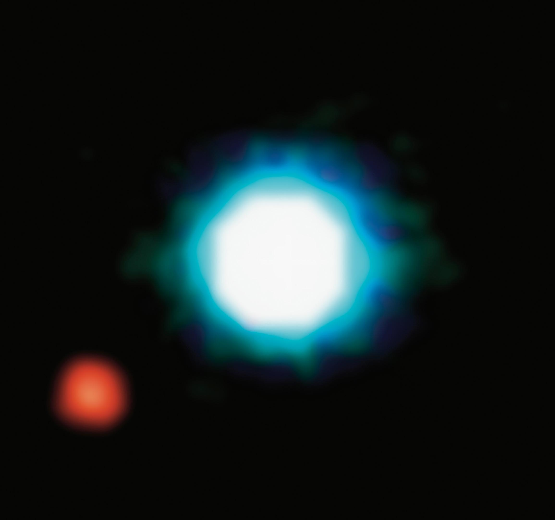 rilevazione diretta di un pianeta