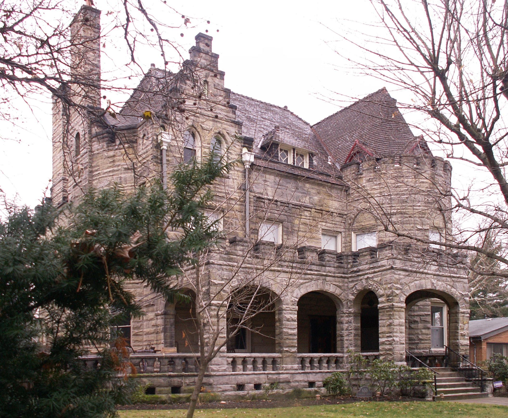 Richardsonian Romanesque House Plans