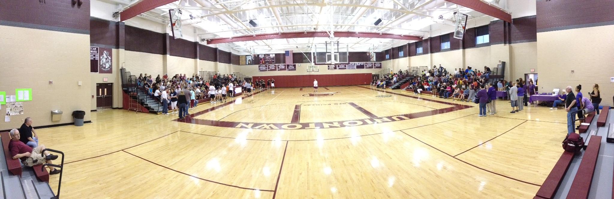 File:A  J  Everhart, Jr  Memorial Gymnasium - Uniontown Area